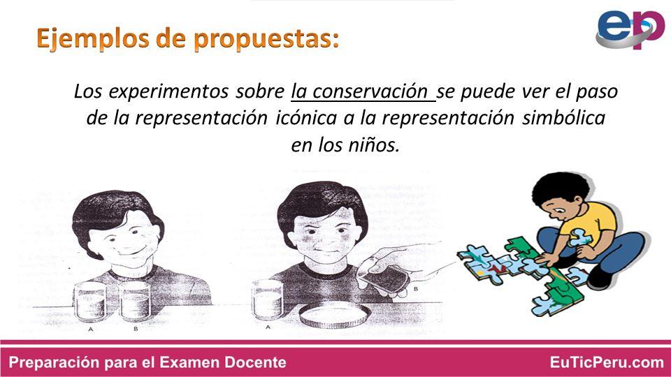 Ejemplos de propuestas: