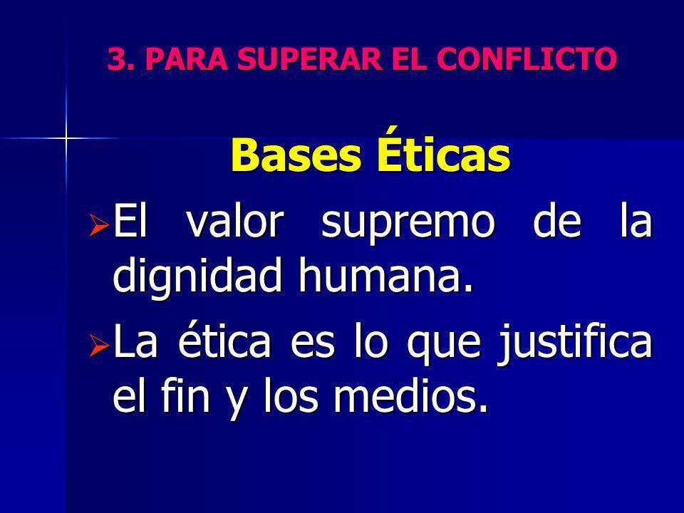 3. PARA SUPERAR EL CONFLICTO