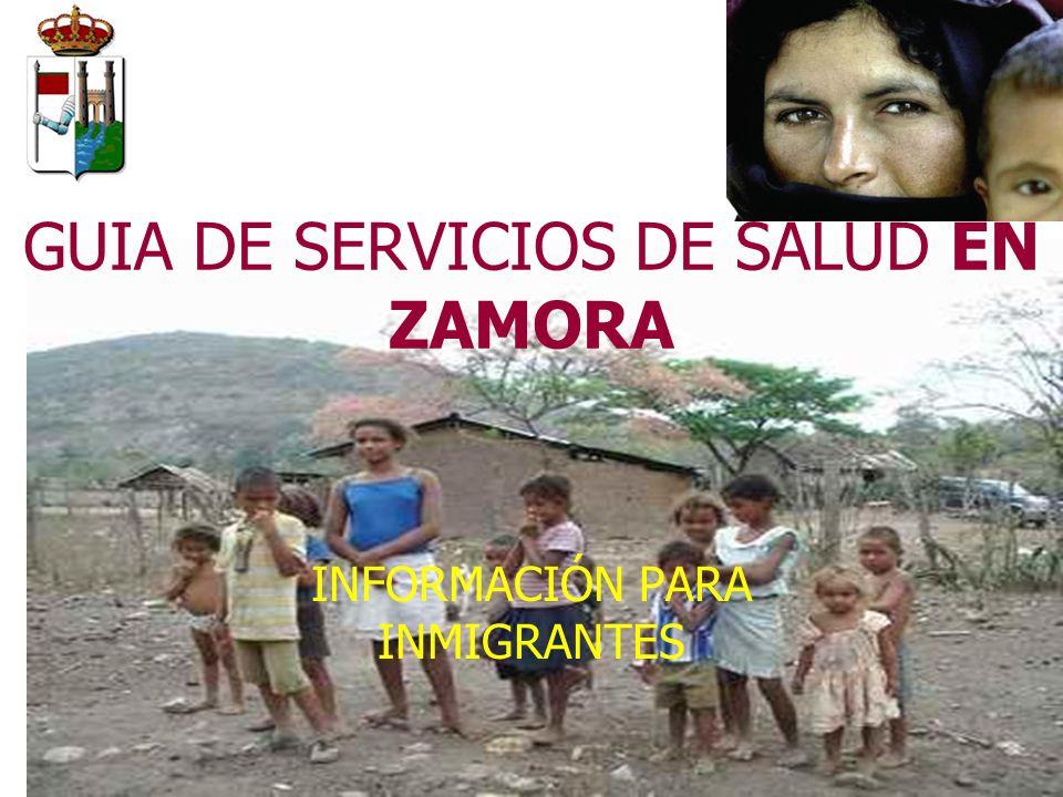 GUIA DE SERVICIOS DE SALUD EN ZAMORA