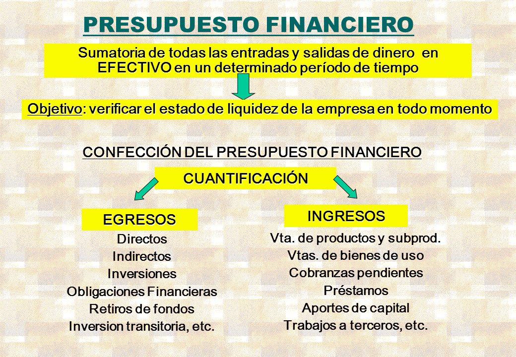 Confecci n del presupuesto financiero ppt video online for Presupuesto para una alberca