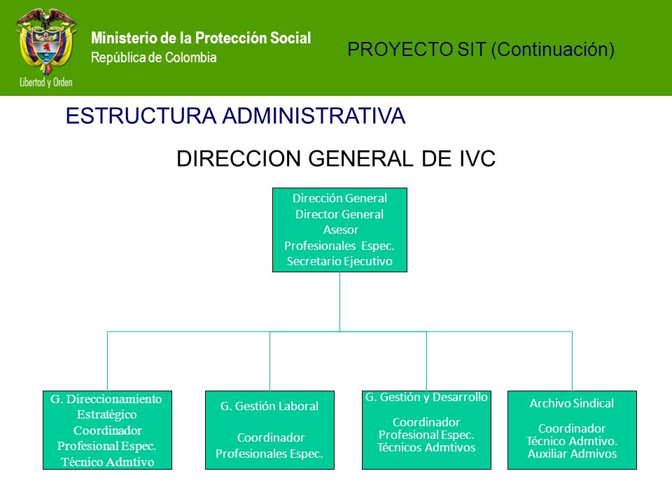 DIRECCION GENERAL DE IVC