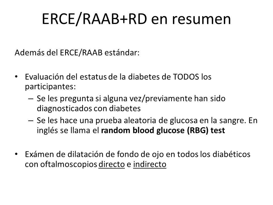 ERCE/RAAB+RD en resumen