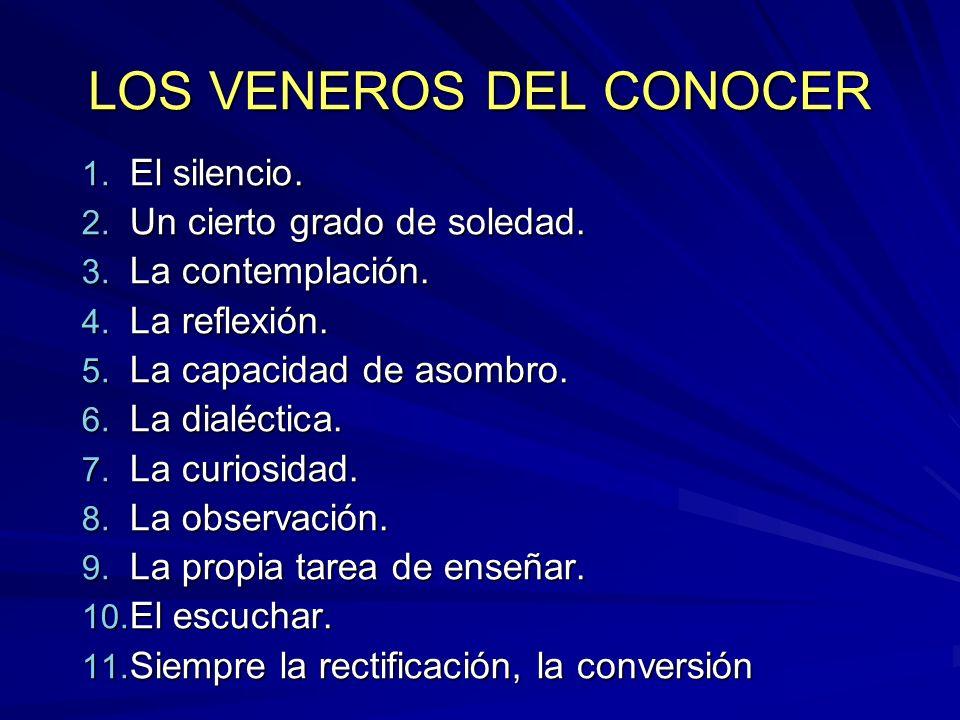 LOS VENEROS DEL CONOCER