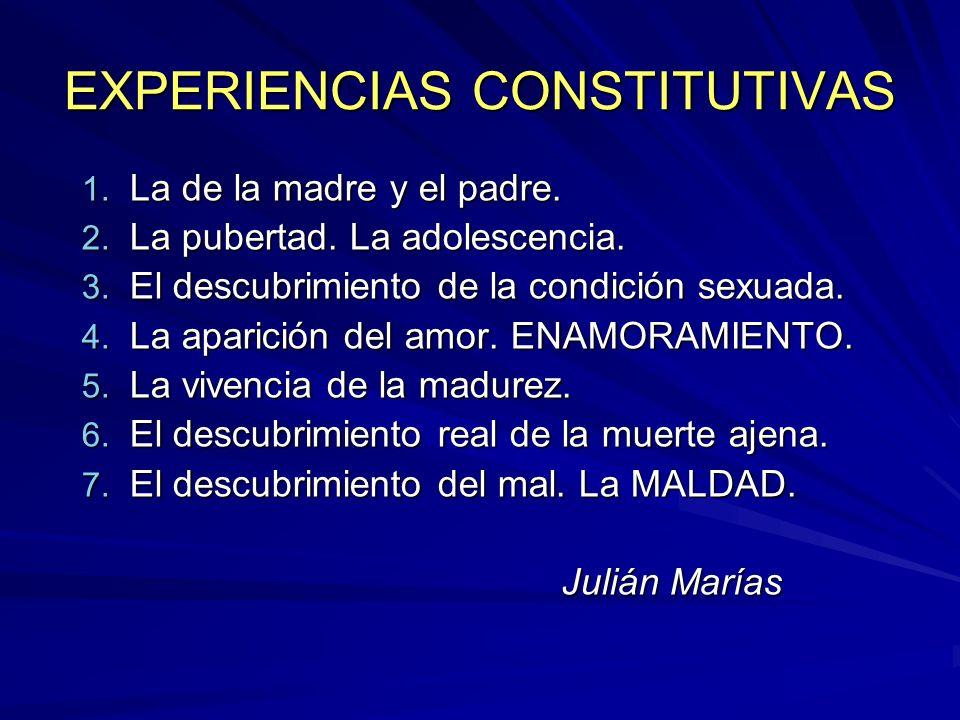 EXPERIENCIAS CONSTITUTIVAS