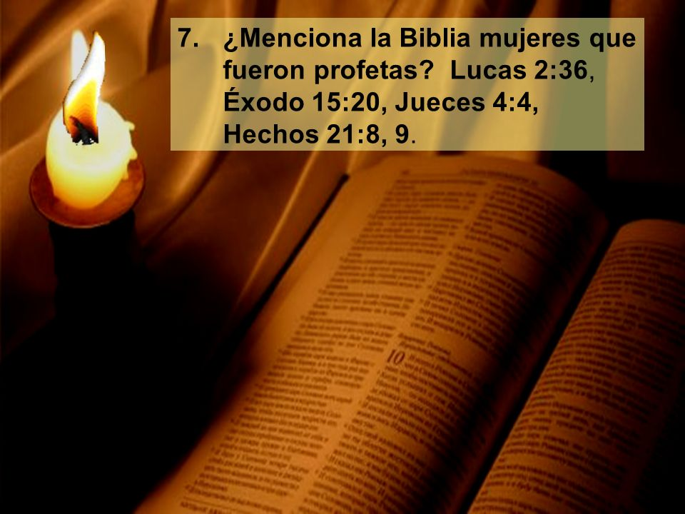 ¿Menciona la Biblia mujeres que fueron profetas