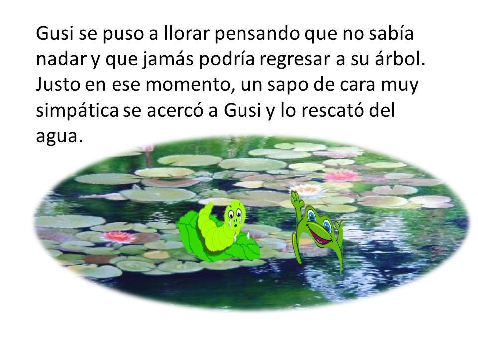 """""""GUSI, EL GUSANO"""" En Lo Alto De Un árbol Vivía Gusi El"""