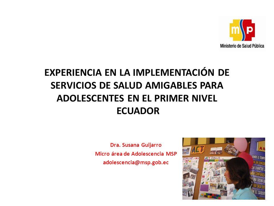 Micro área de Adolescencia MSP
