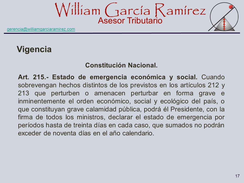 Constitución Nacional.