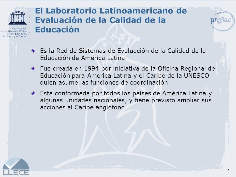 El Laboratorio Latinoamericano de Evaluación de la Calidad de la Educación