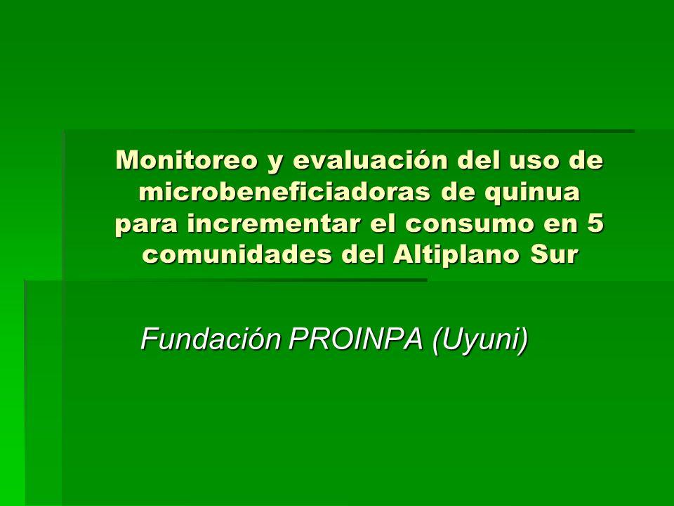 Fundación PROINPA (Uyuni)