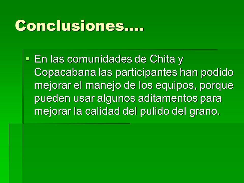 Conclusiones….