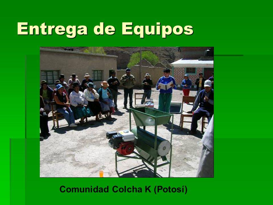 Comunidad Colcha K (Potosí)