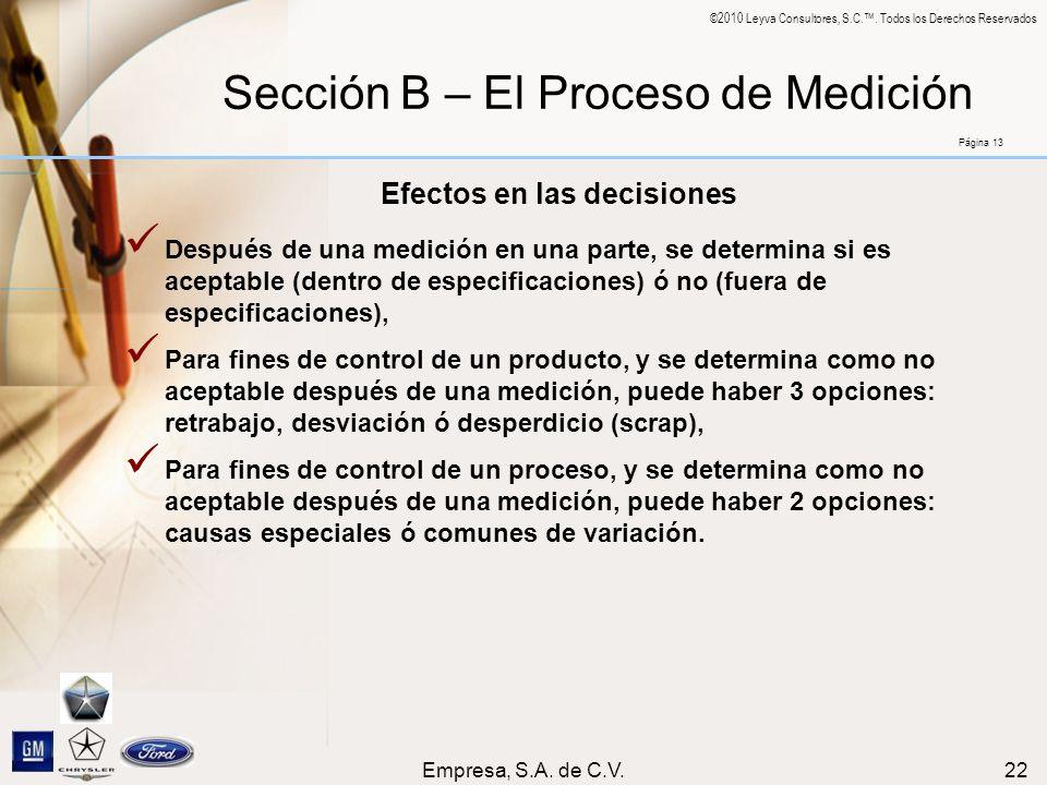 Efectos en las decisiones