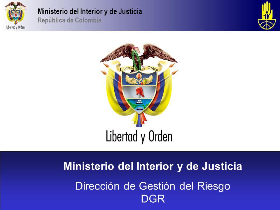ministerio del interior y de justicia ppt descargar