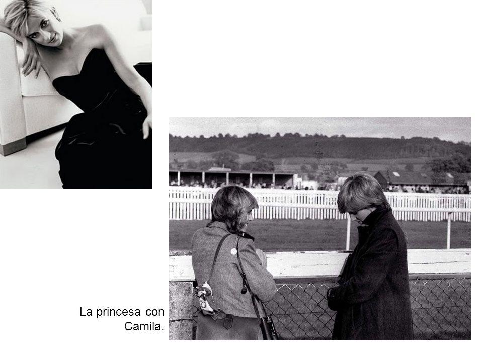 La princesa con Camila.
