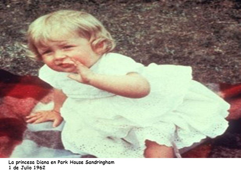 La princesa Diana en Park House Sandringham