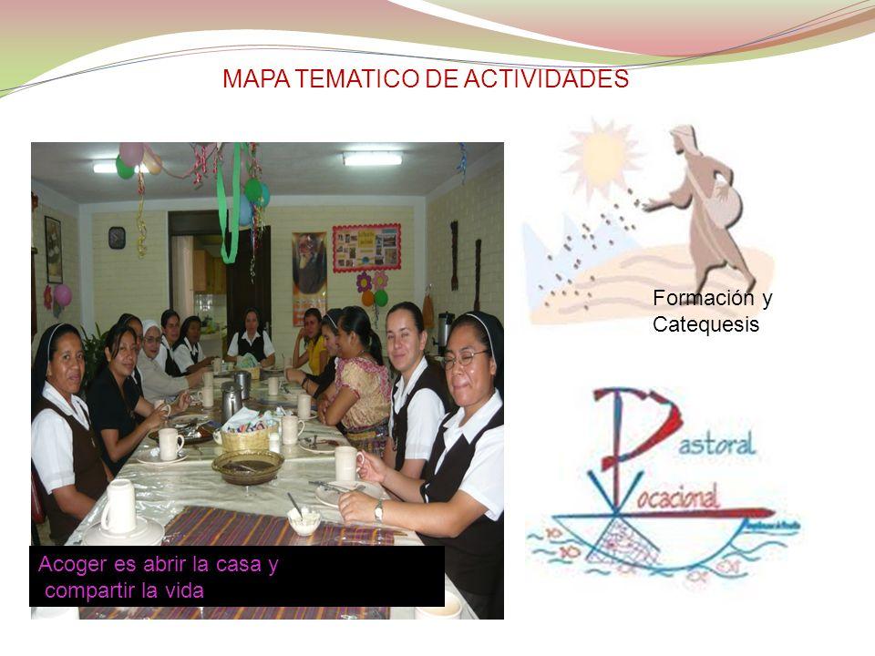 MAPA TEMATICO DE ACTIVIDADES