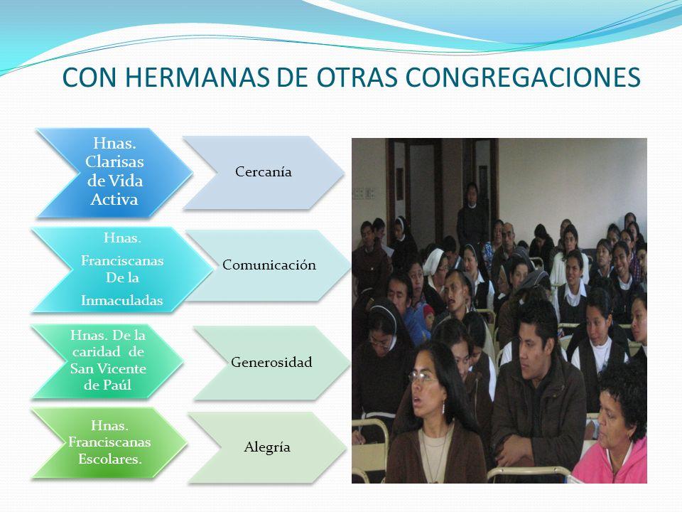 CON HERMANAS DE OTRAS CONGREGACIONES