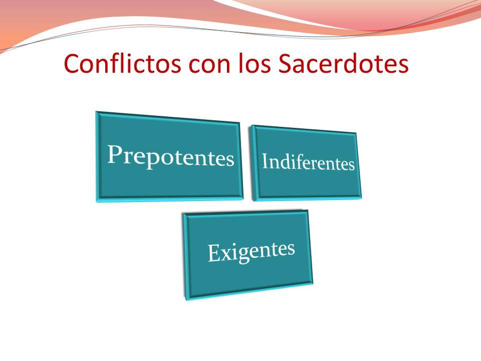 Conflictos con los Sacerdotes