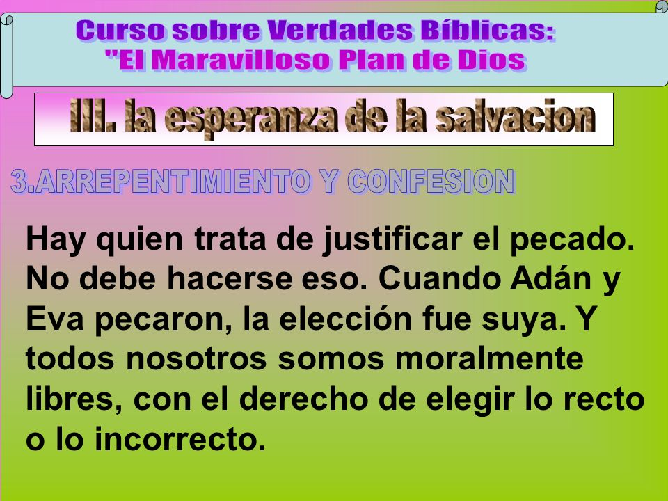 Arrepentimiento Y Confesión A