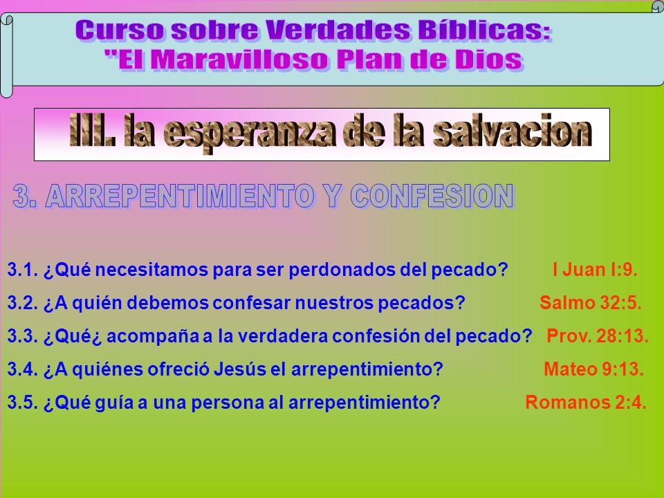 Arrepentimiento Y Confesión B