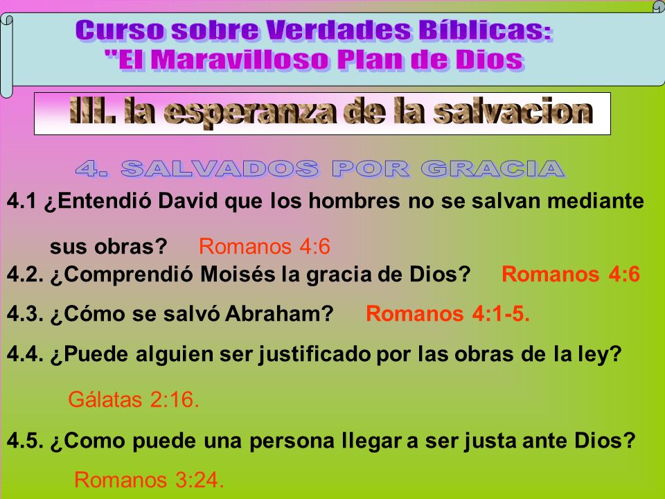 Salvados Por Gracia B Curso sobre Verdades Bíblicas: