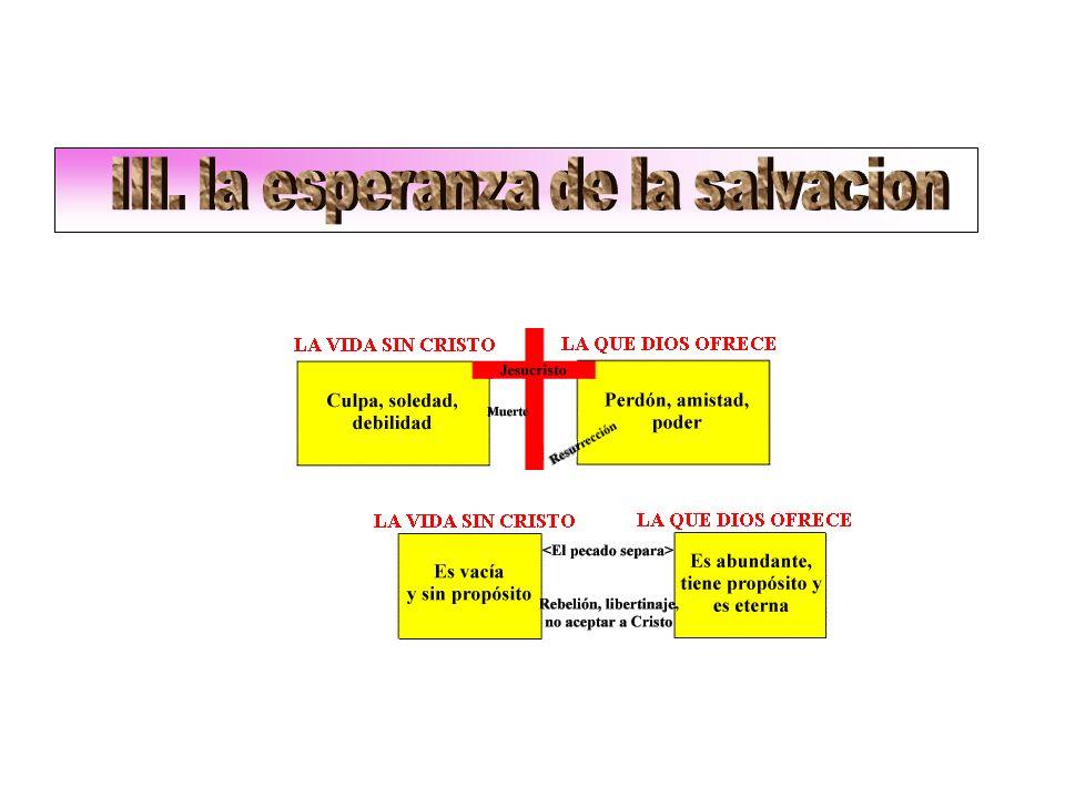III. la esperanza de la salvacion