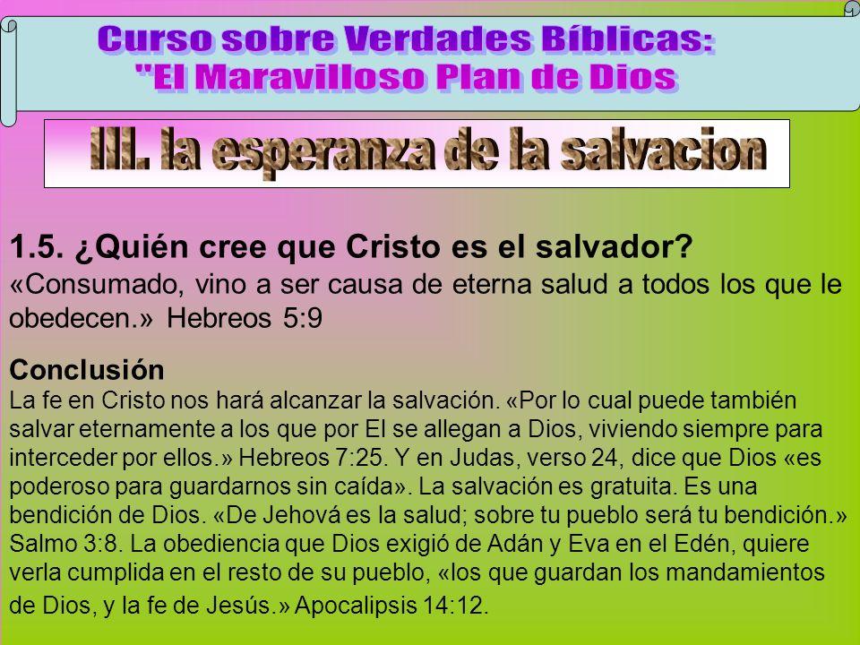 Cristo Es El Salvador Curso sobre Verdades Bíblicas: