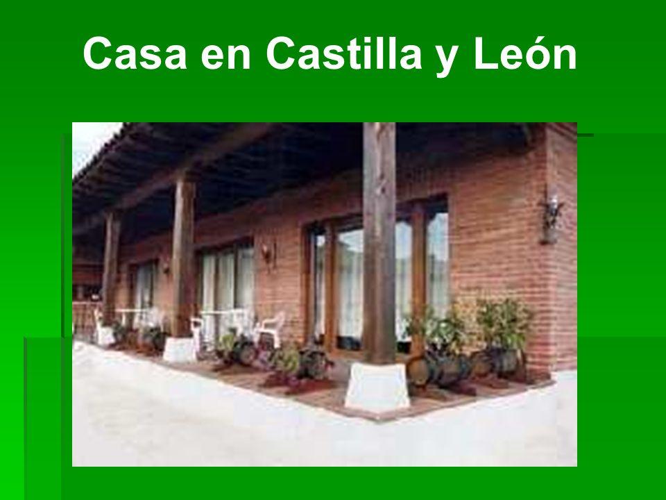 Casa en Castilla y León ¿De qué materiales es esta casa