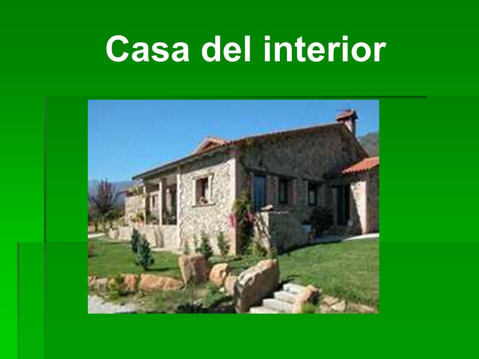 Casa del interior Casa del campo en Avila, al noroeste de Madrid.