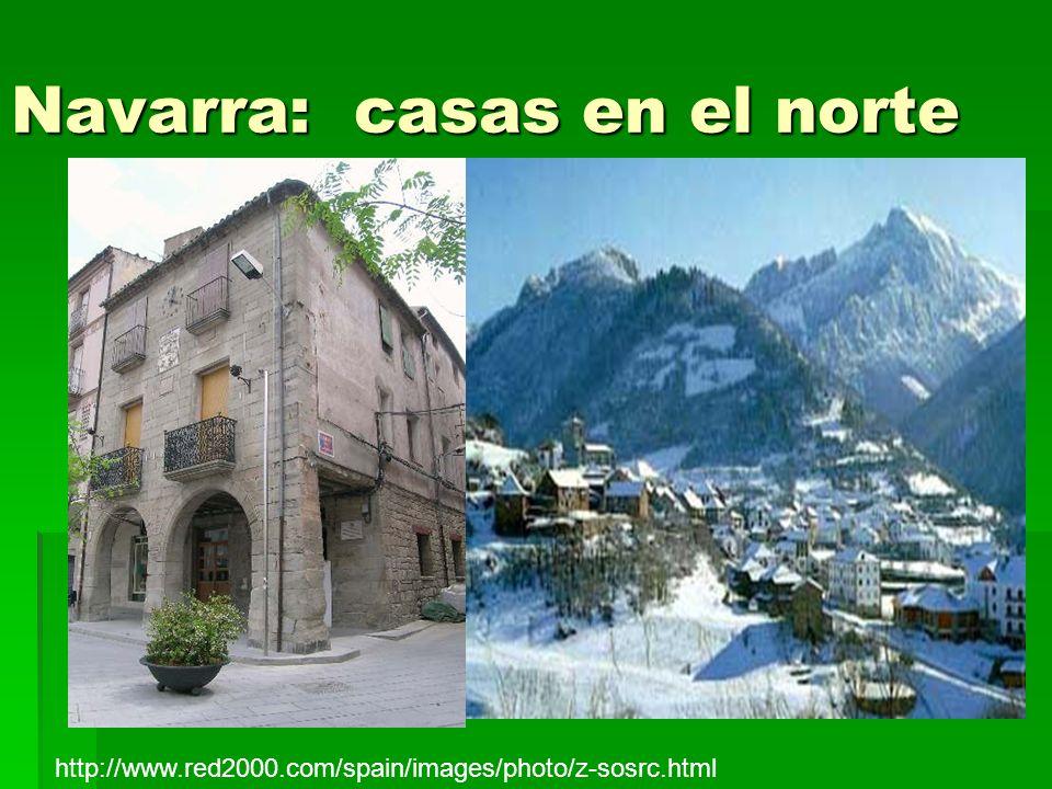 Navarra: casas en el norte