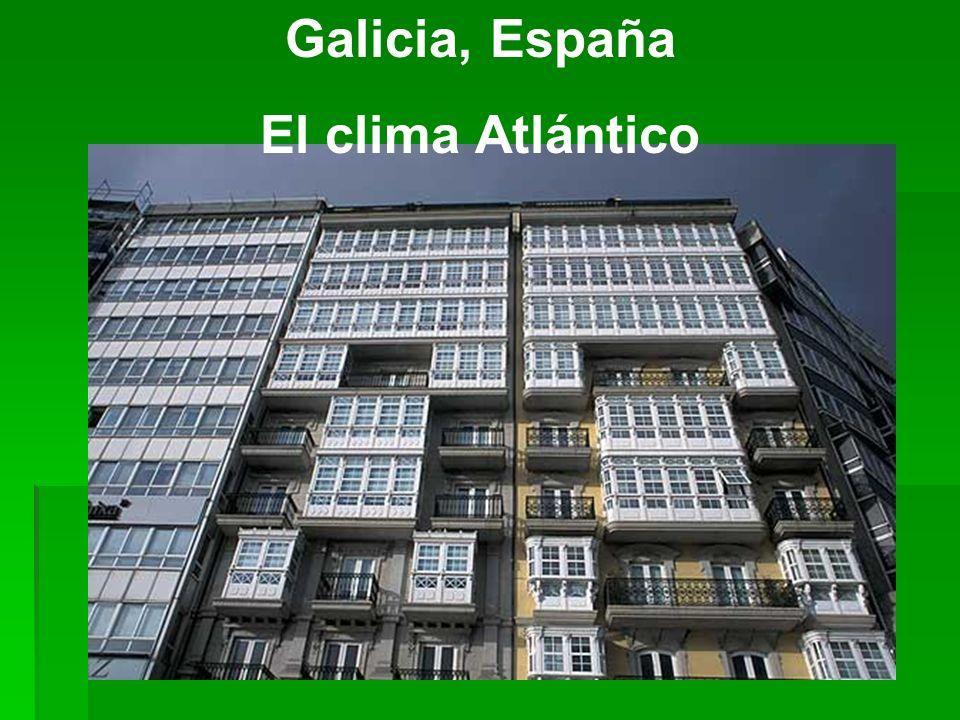 Galicia, España El clima Atlántico
