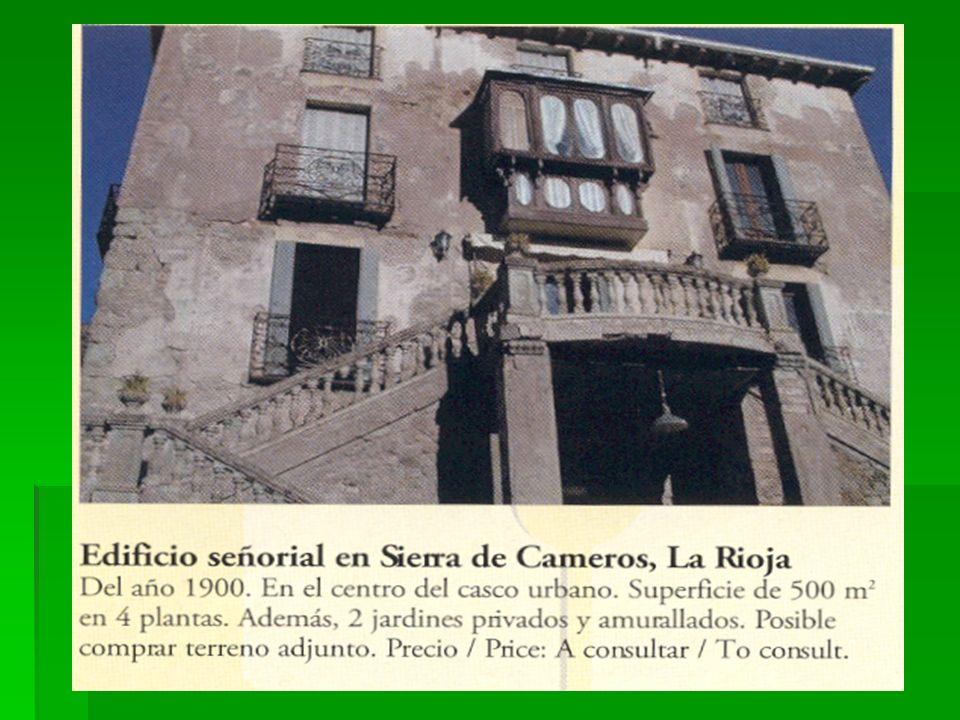 ¿Por qué es esta casa típica de una casa en La Rioja