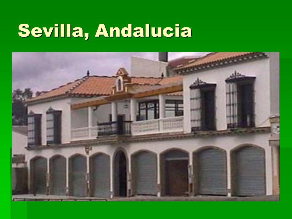 Sevilla, Andalucia ¿De qué materiales es esta casa ¿Por qué