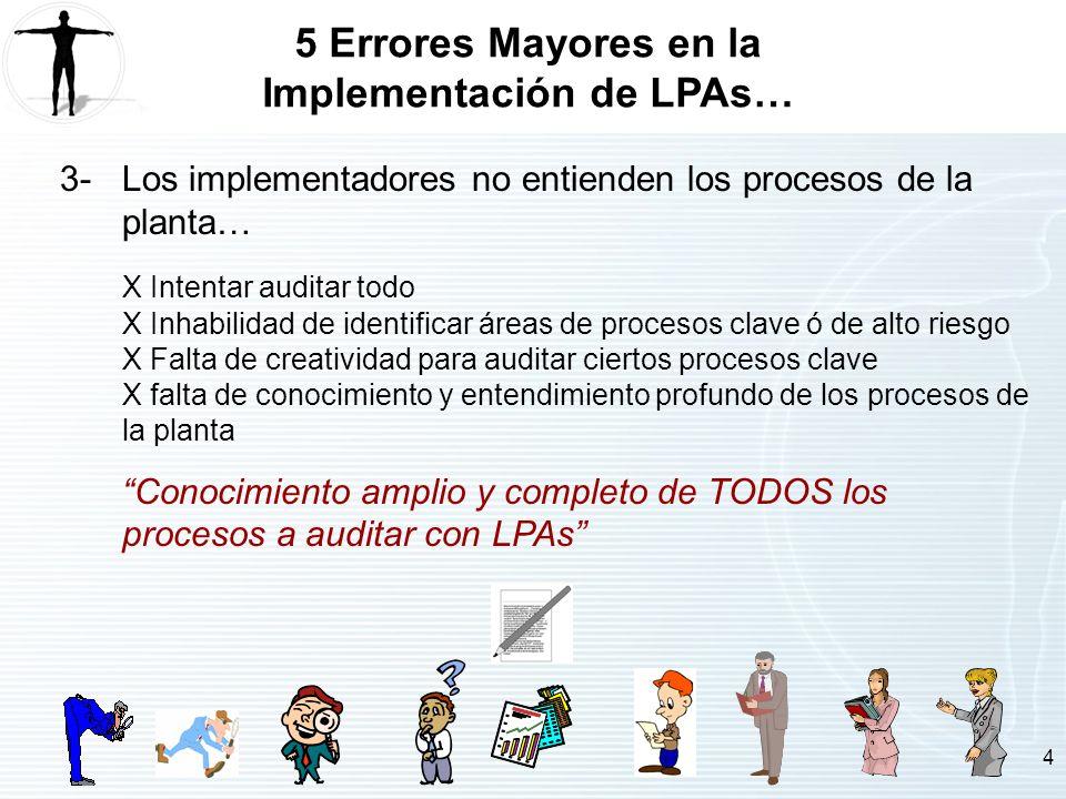 5 Errores Mayores en la Implementación de LPAs…