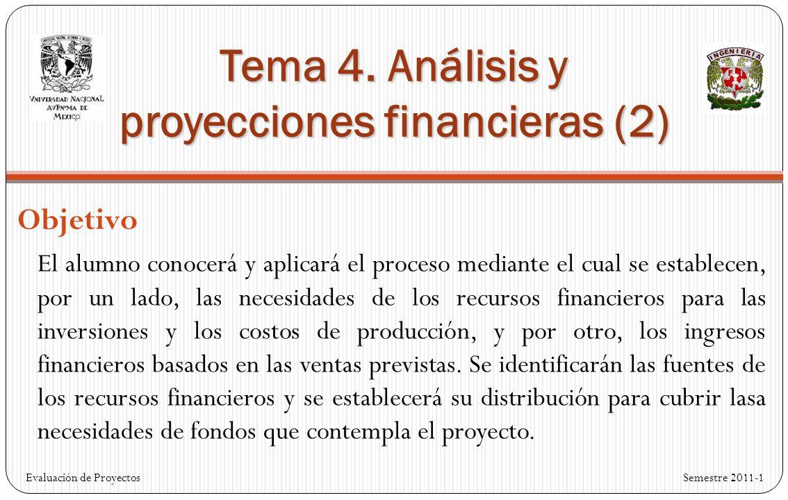Tema 4. Análisis y proyecciones financieras (2)