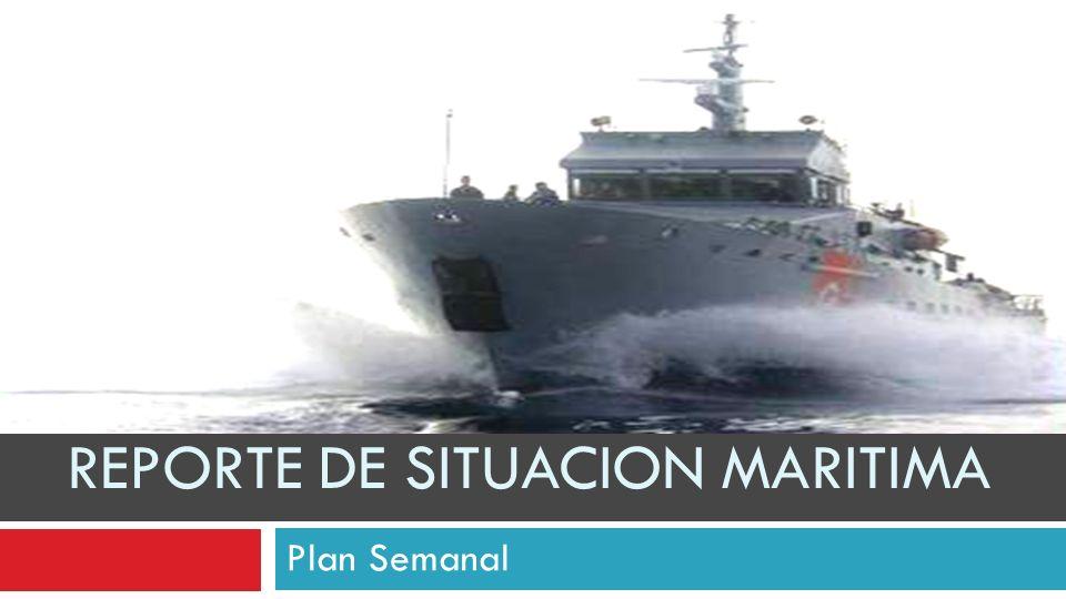 REPORTE DE SITUACION MARITIMA