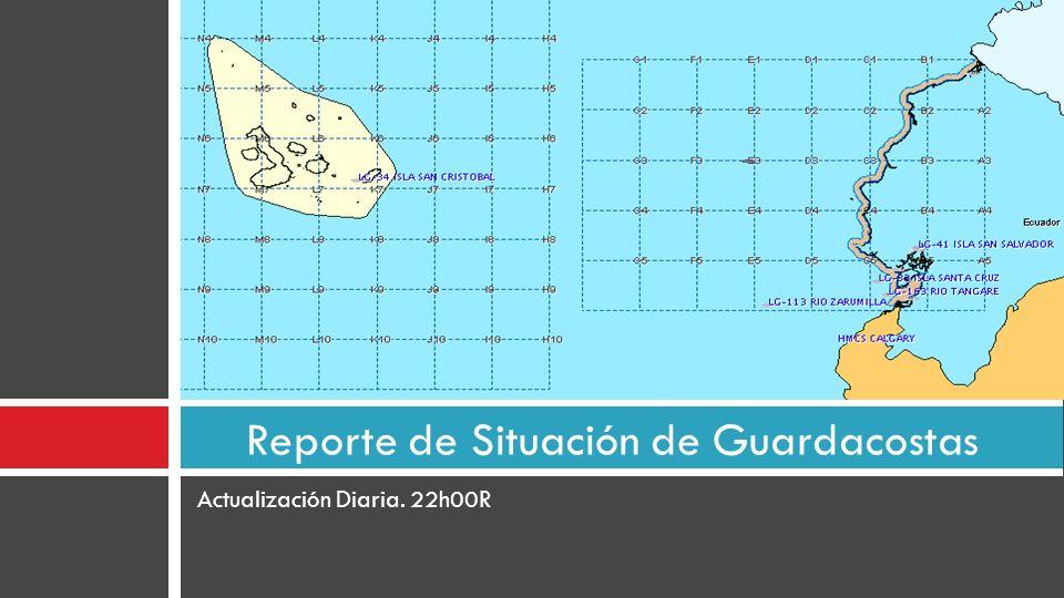 Reporte de Situación de Guardacostas