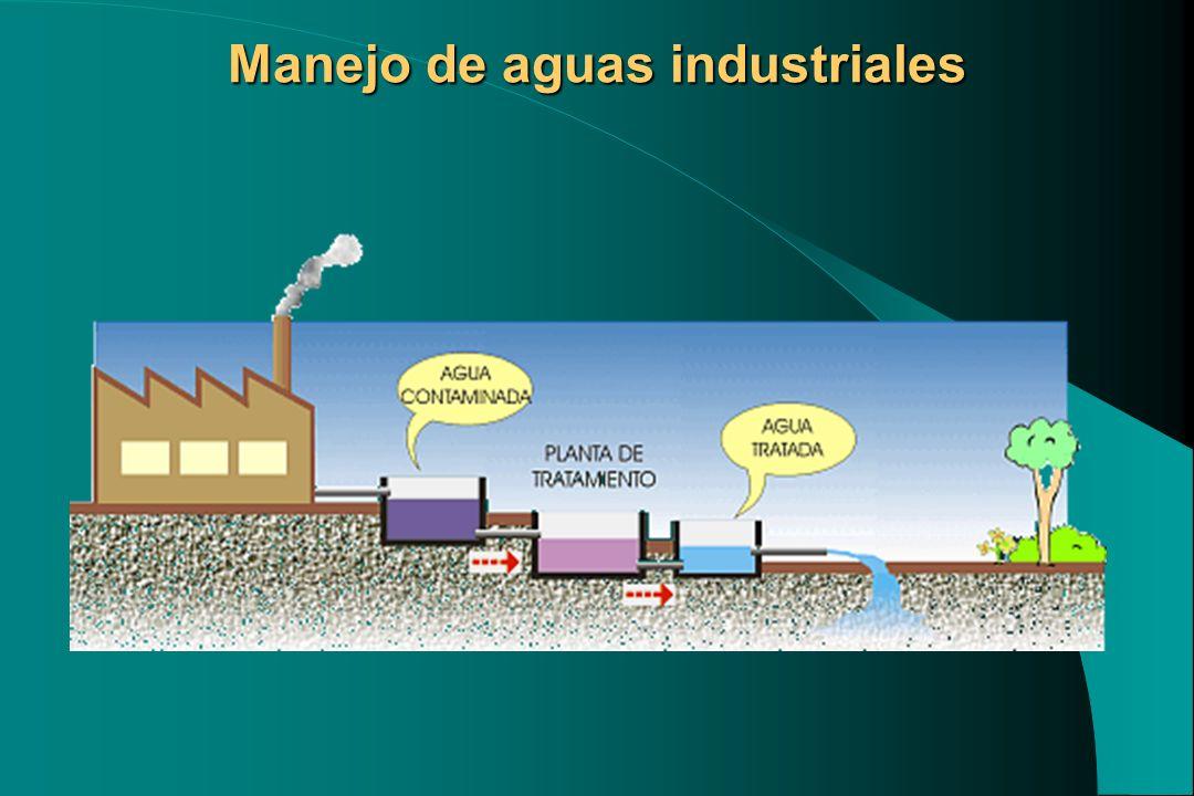 Manejo de aguas industriales