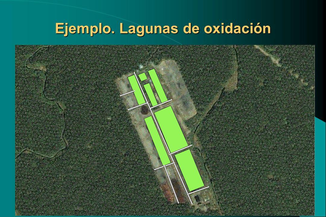 Ejemplo. Lagunas de oxidación