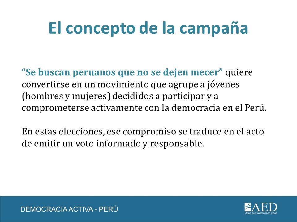 El concepto de la campaña