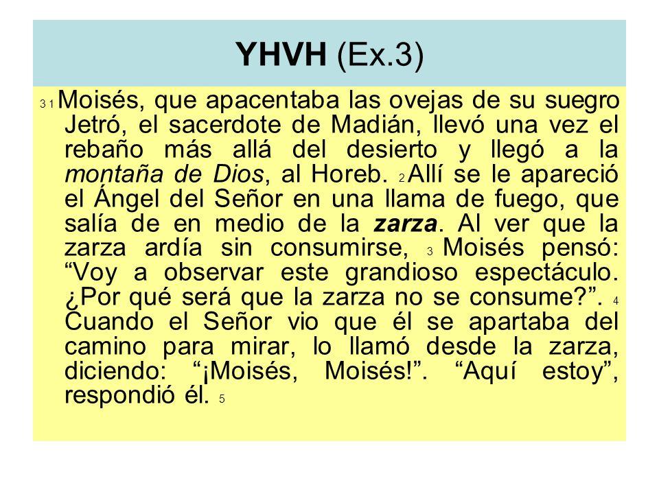 YHVH (Ex.3)