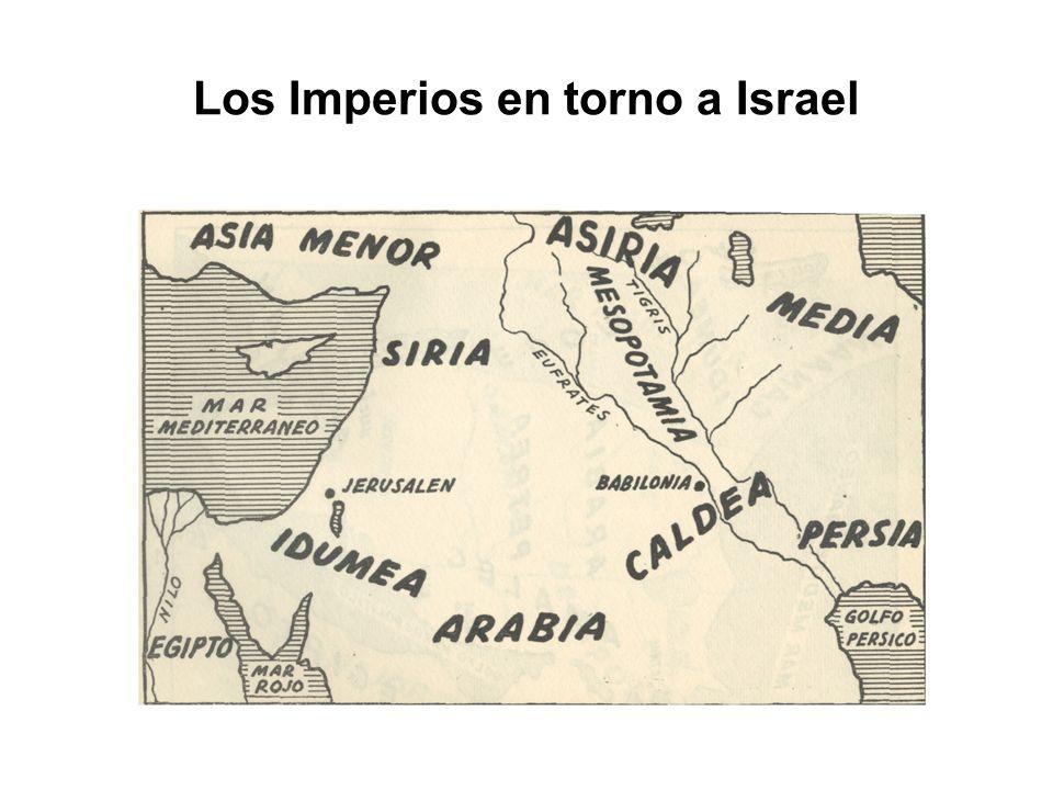 Los Imperios en torno a Israel