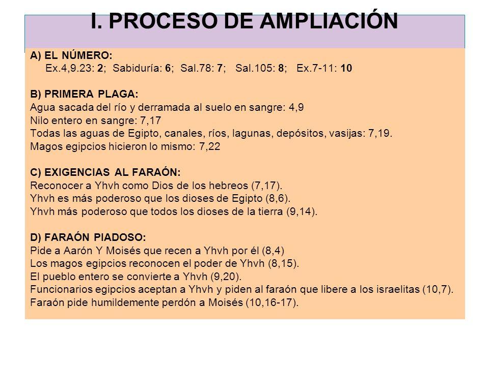 I. PROCESO DE AMPLIACIÓN