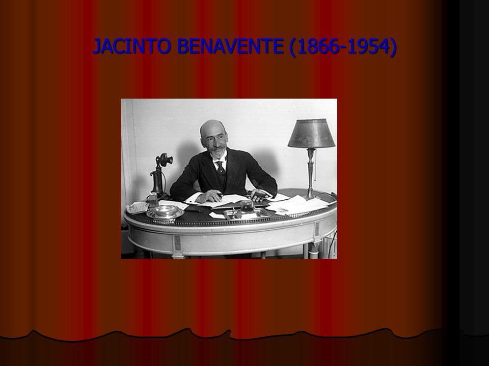 JACINTO BENAVENTE (1866-1954)