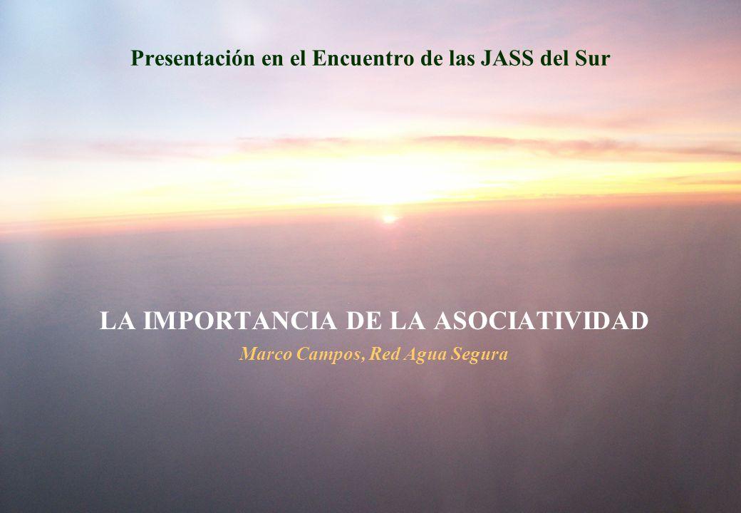 Presentación en el Encuentro de las JASS del Sur