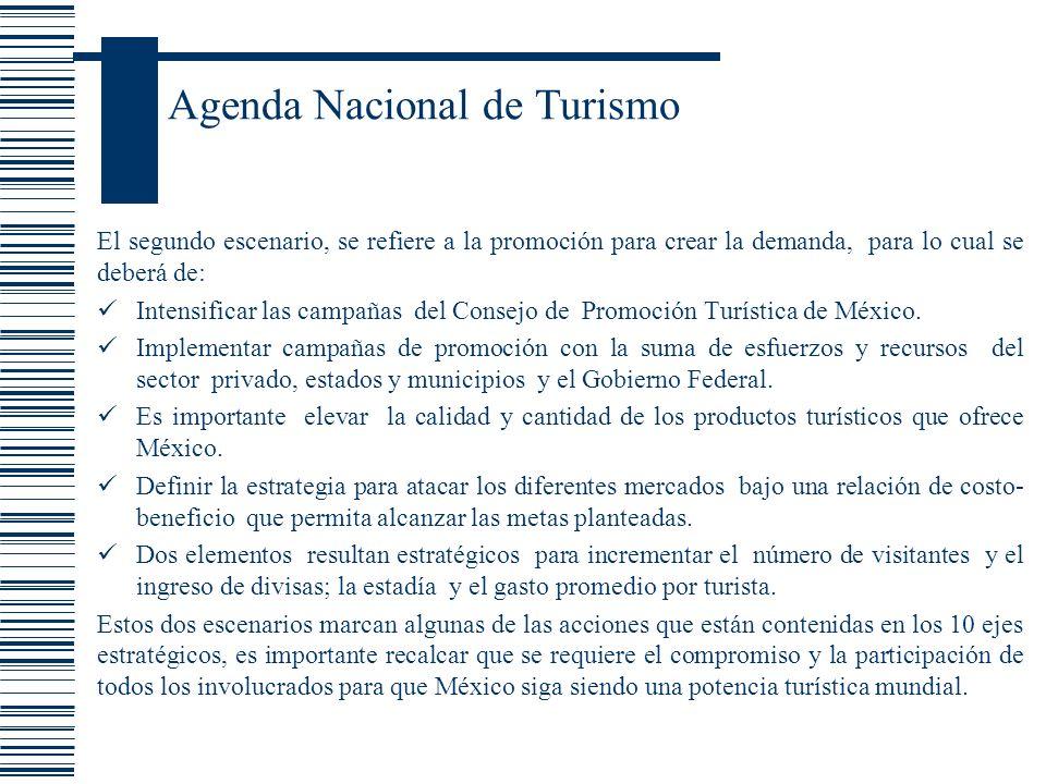 Agenda Nacional de Turismo