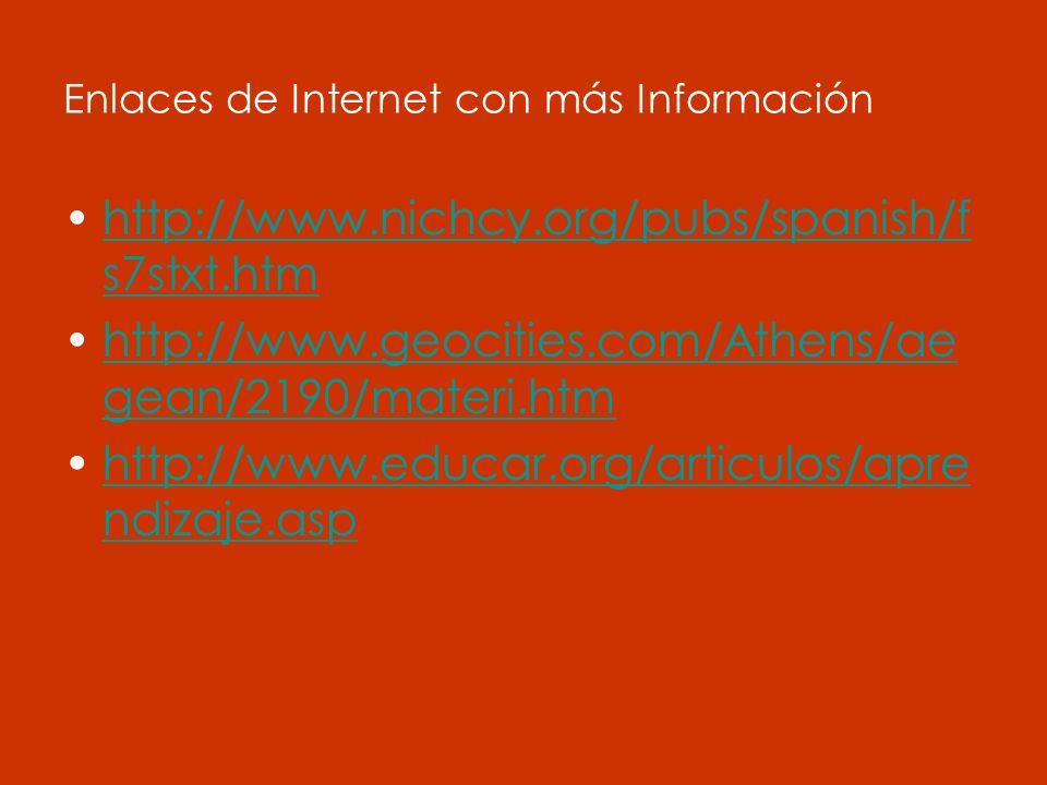 Enlaces de Internet con más Información