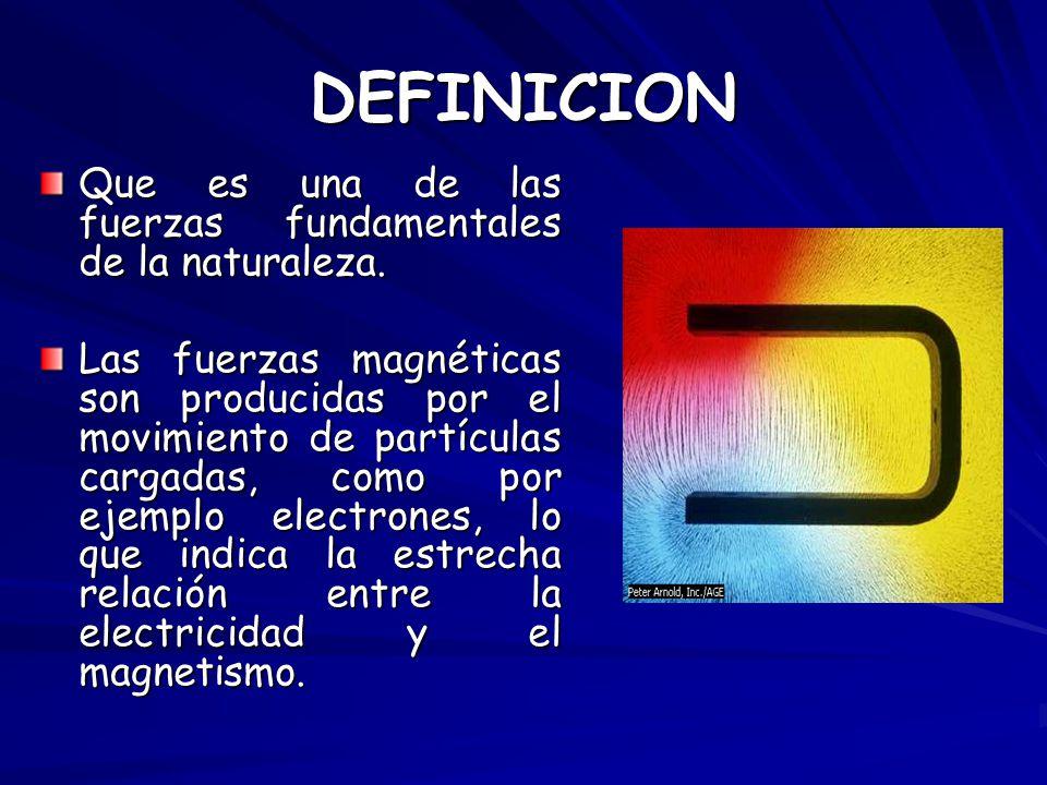 El magnetismo william lopez ppt descargar for Fuera definicion