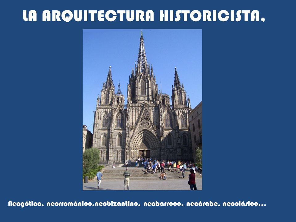 La arquitectura historicista ppt video online descargar for Arquitectura historicista